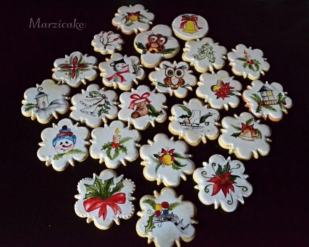 Malované sušenky 3+logo