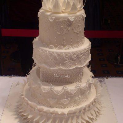 Svatební dort roku 2014