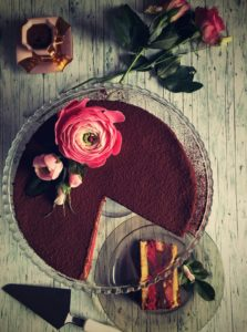 Punčový dort-retro