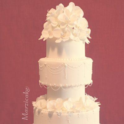 Svatební dort roku 2015