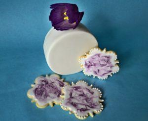 sušenky s tulipánek