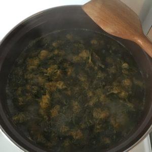 Vaření pampelišek