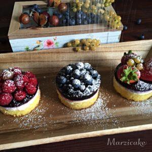 Mini dortíky - cukrování+logo
