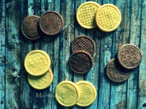 Sušenky vzory+logo barva
