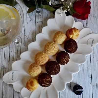 Malé jídlo k drinku – Choux au Craquelin