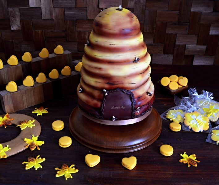 Sladký bar pro včelaře+logo