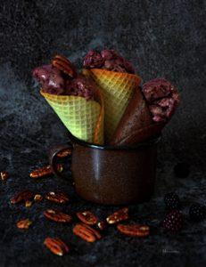 Ostružinová zmrzlina 5+logo
