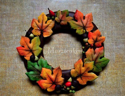 Podzimní věnec+logo