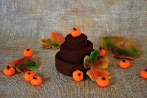 čoko dortík - podzim