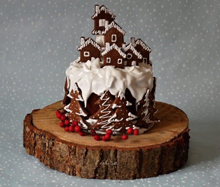 Zimní dort+logo