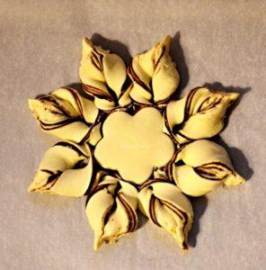 Hvězda s čokoládou+logo