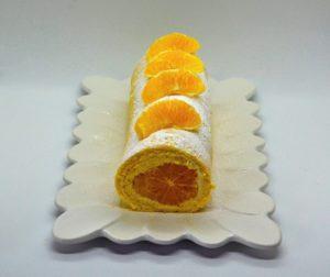 Roláda s pomerančem