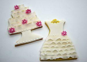 Šaty a dortík
