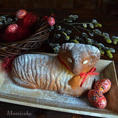 Velikonoční beránek ze zakysané smetany