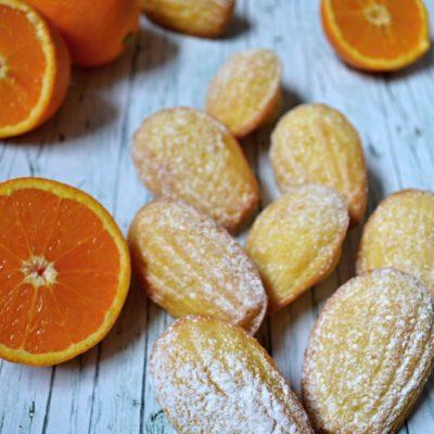Pomerančové Madlenky