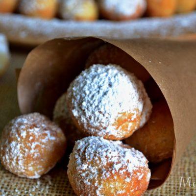 Mini koblížky a donuty