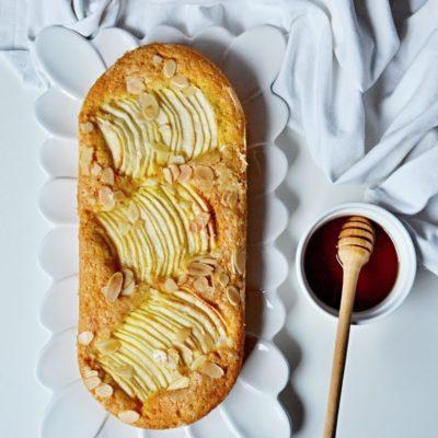 Bublanina s jablky a javorovým sirupem