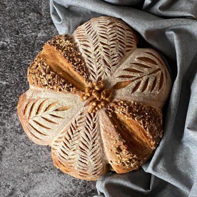 Chléb a sušený kvásek