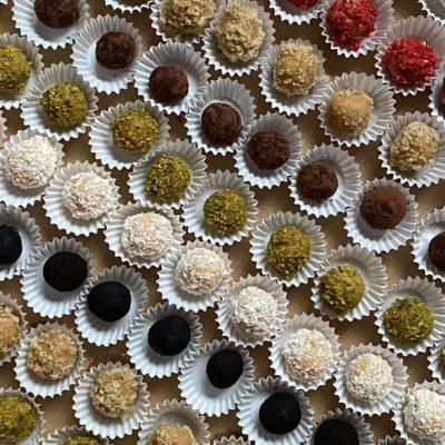 Nepečené cukroví – kuličky